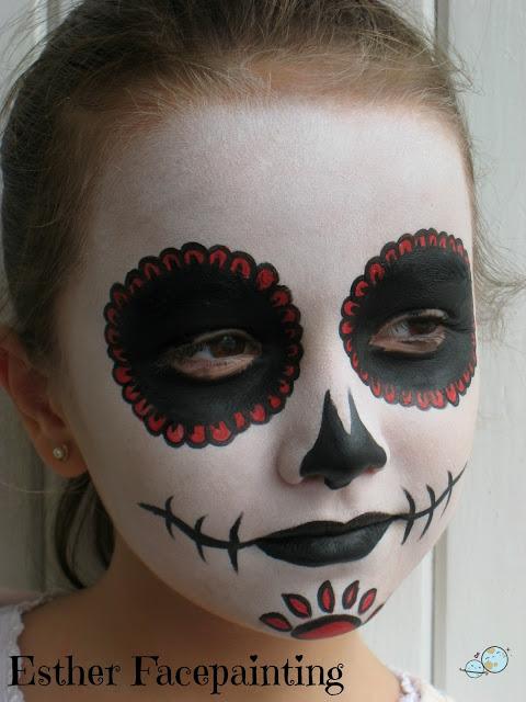 calavera mexicana, niños, catrina