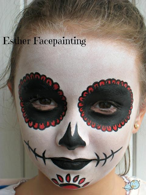 Maquillaje De Halloween Para Niños Calavera Mexicana