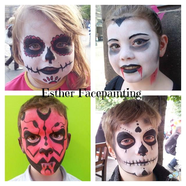 Maquillaje De Halloween Para Niños Tecnicas Y Materiales