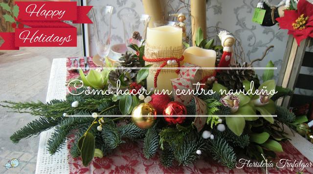 Como hacer un centro de mesa navide o planeta mamy - Hacer un centro de mesa ...