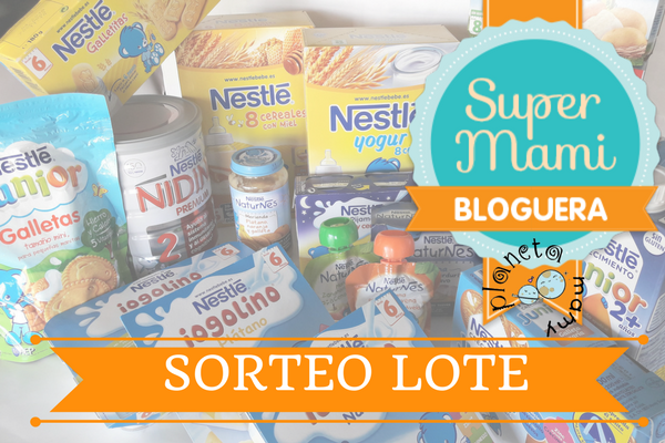 Sorteo Lote Super Mami Bloguera