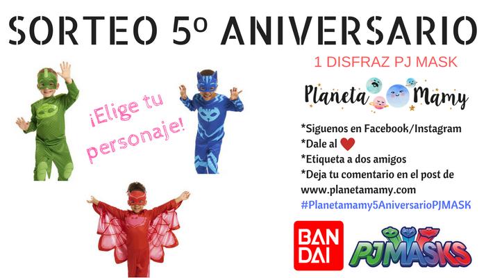 disfraces, pj masks, carnaval, niños, Bandai