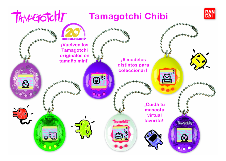 tamagotchi series 2 Bandai