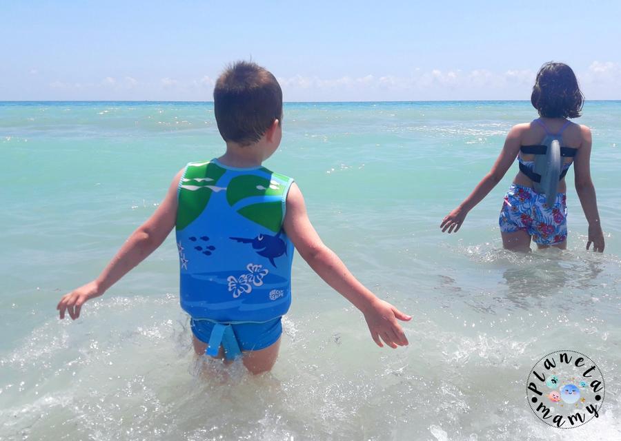 sistemas de flotacion infantil