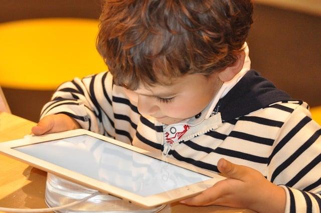niños nuevas tecnologias