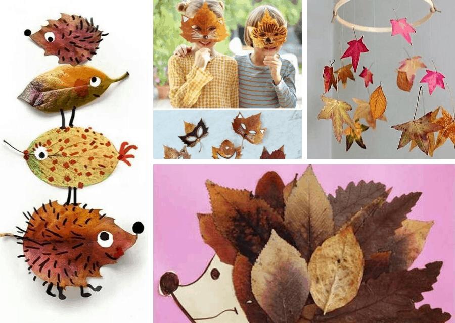 actividades niños otoño