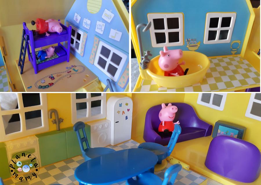 casa portatil Peppa Pig