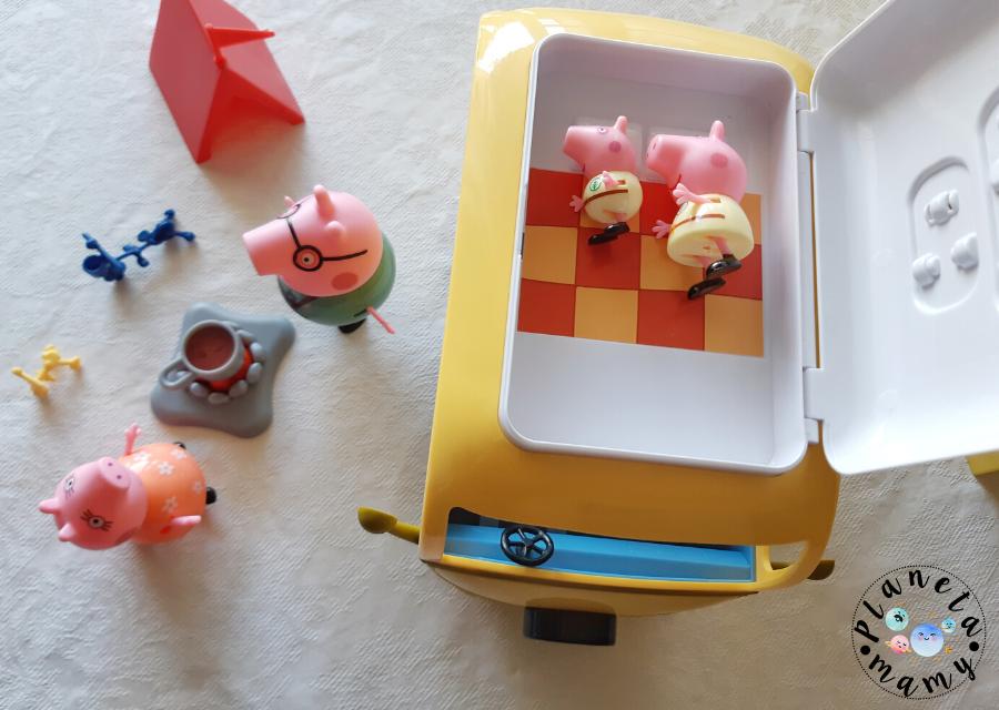 autocaravana Peppa Pig